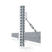 Fachbodenregal Heavy Duty aus Metall - Lose Elemente