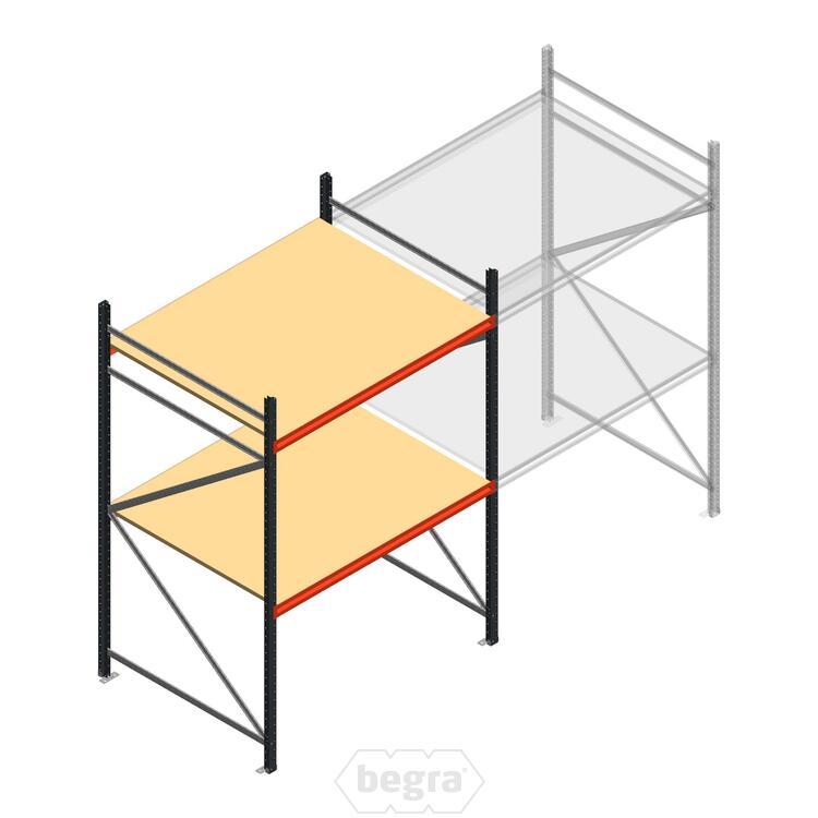 Anfangabschnitt AR Weitspannregal 2000x1500x1200 - 2 Ebenen