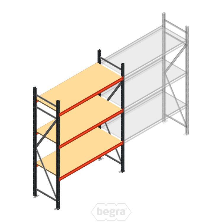 Anfangabschnitt AR Weitspannregal 2000x1500x600 - 3 Ebenen