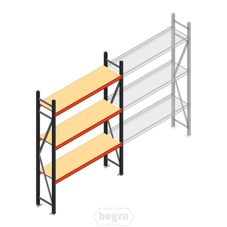 Anfangabschnitt AR Weitspannregal 2000x1610x400 - 3 Ebenen