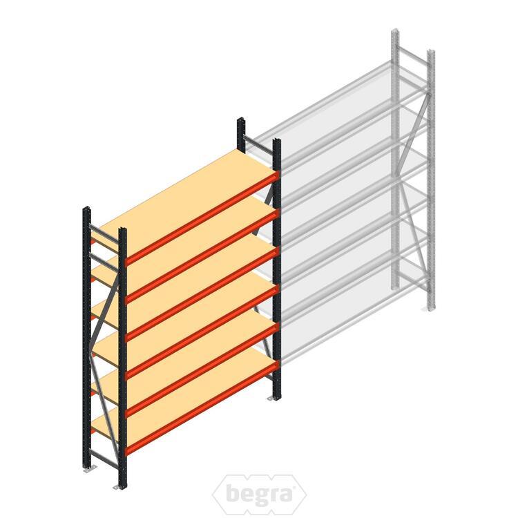 Anfangabschnitt AR Weitspannregal 2000x1610x400 - 6 Ebenen