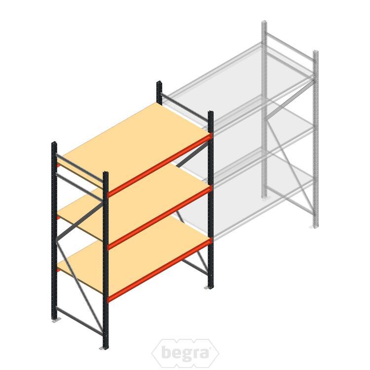 Anfangabschnitt AR Weitspannregal 2250x1500x800 - 3 Ebenen