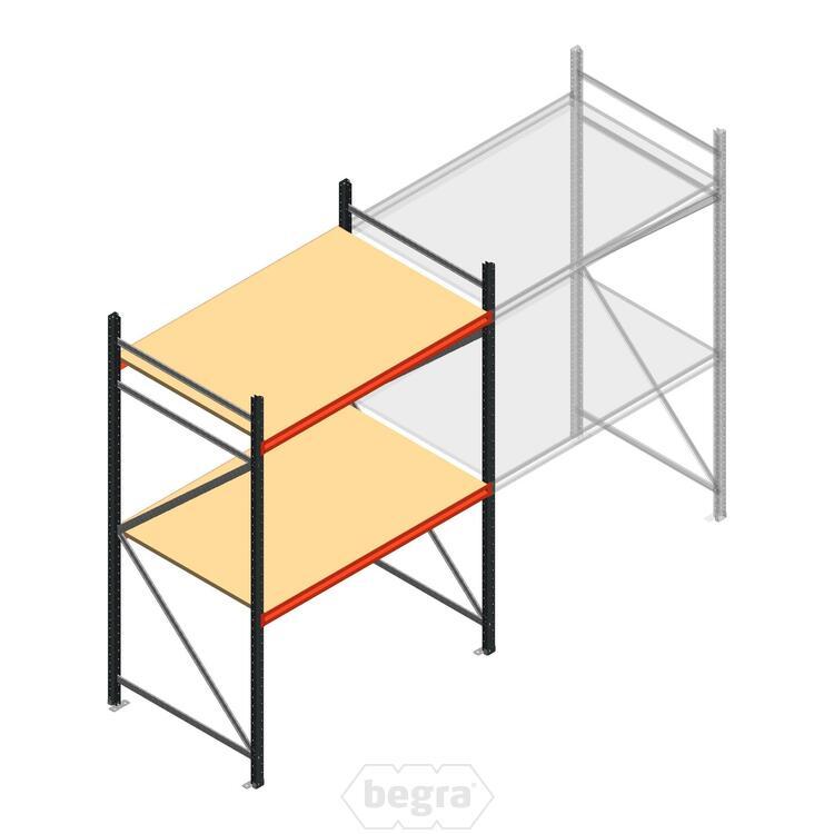 Anfangabschnitt AR Weitspannregal 2250x1610x900 - 2 Ebenen