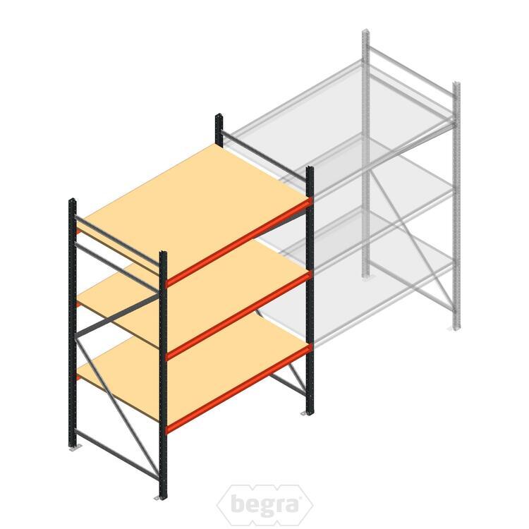 Anfangabschnitt AR Weitspannregal 2500x1500x900 - 3 Ebenen
