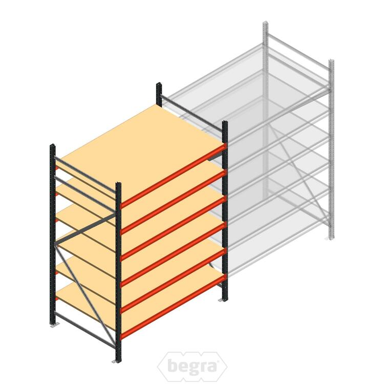 Anfangabschnitt AR Weitspannregal 2500x1500x900 - 6 Ebenen