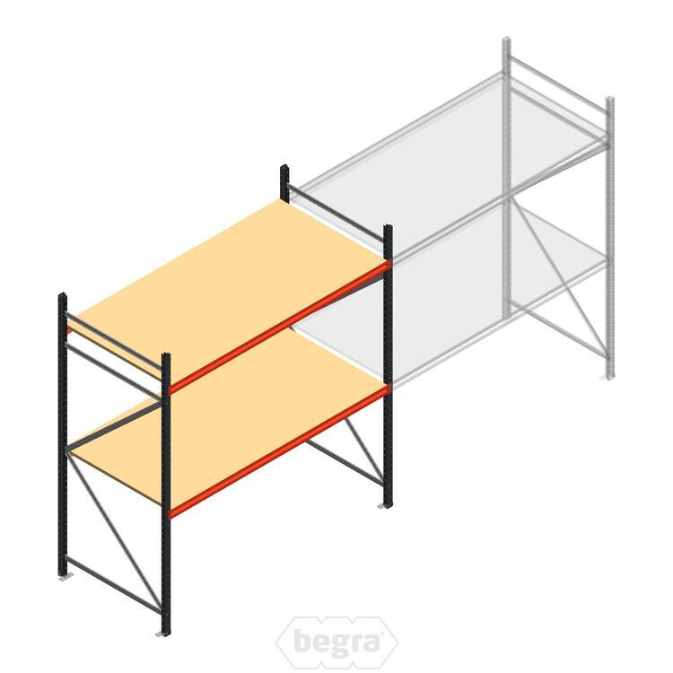Anfangabschnitt AR Weitspannregal 2500x2250x900 - 2 Ebenen