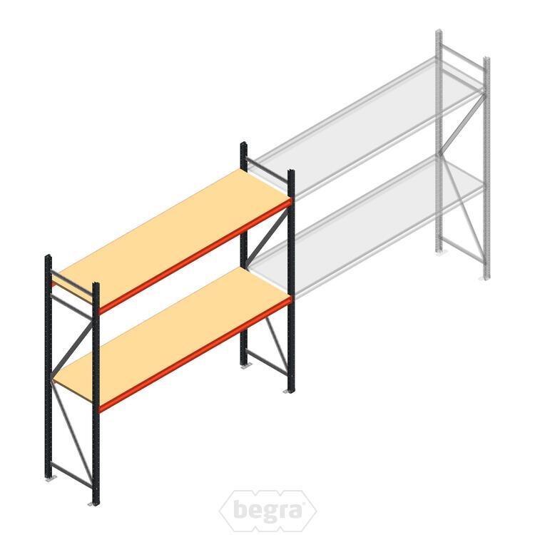 Anfangabschnitt AR Weitspannregal 2500x2700x600 - 2 Ebenen