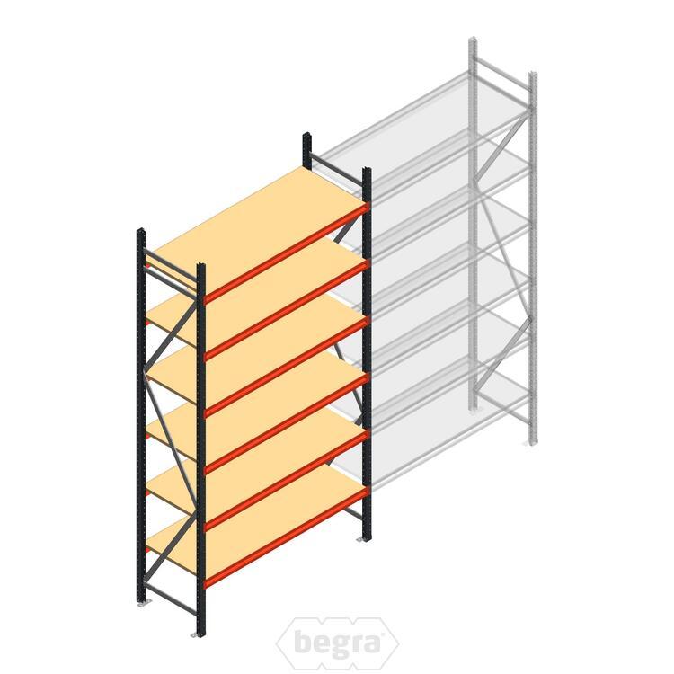 Anfangabschnitt AR Weitspannregal 3000x1500x600 - 6 Ebenen