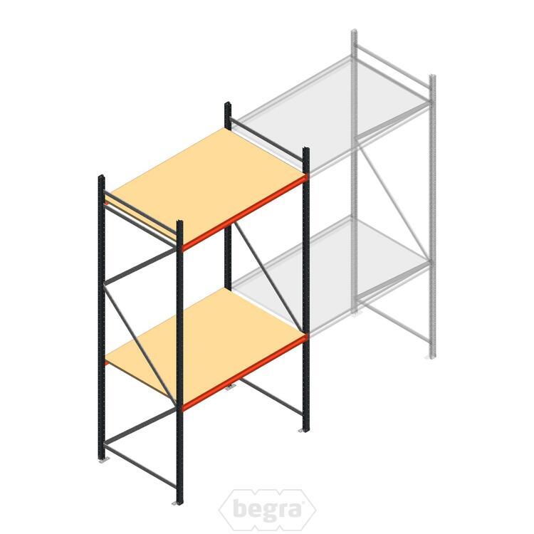 Anfangabschnitt AR Weitspannregal 3000x1500x900 - 2 Ebenen
