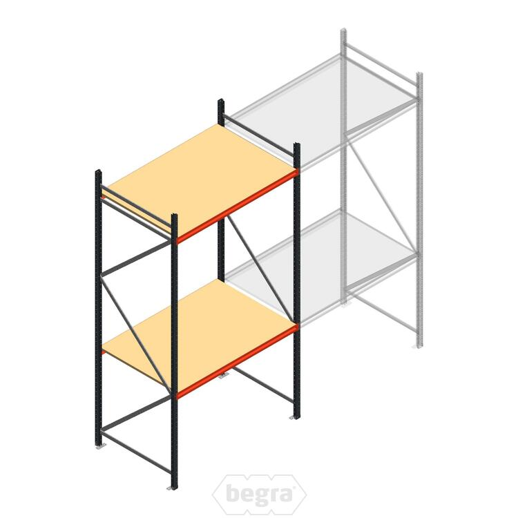 Anfangabschnitt AR Weitspannregal 3000x1610x1000 - 2 Ebenen