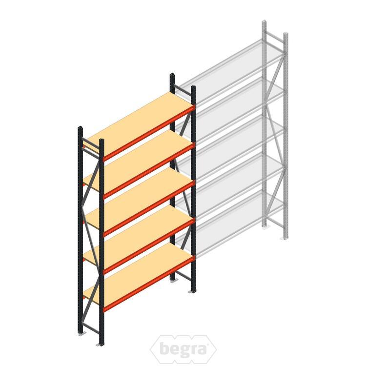 Anfangabschnitt AR Weitspannregal 3000x1610x400 - 5 Ebenen