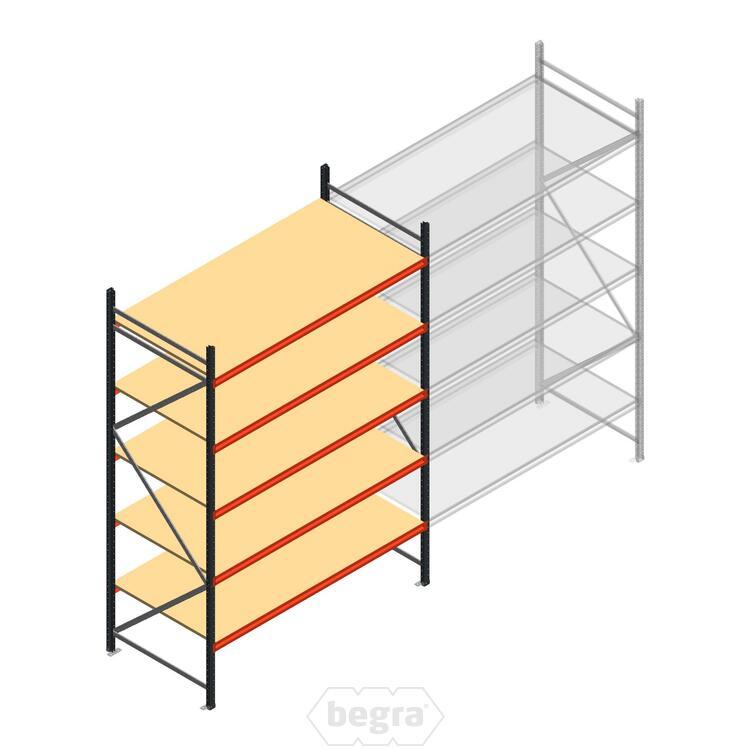 Anfangabschnitt AR Weitspannregal 3000x1850x1000 - 5 Ebenen