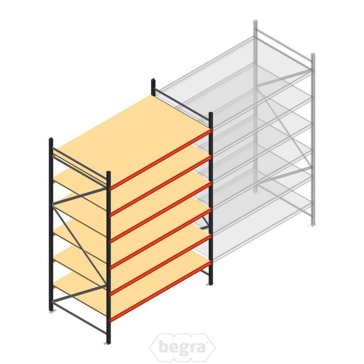 Anfangabschnitt AR Weitspannregal 3000x1850x1200 - 6 Ebenen