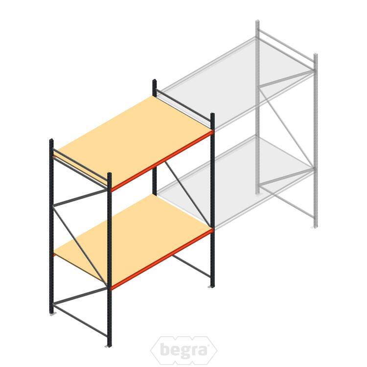 Anfangabschnitt AR Weitspannregal 3000x2010x1200 - 2 Ebenen