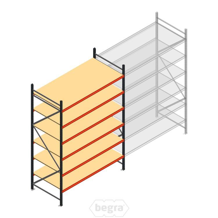Anfangabschnitt AR Weitspannregal 3000x2010x900 - 6 Ebenen