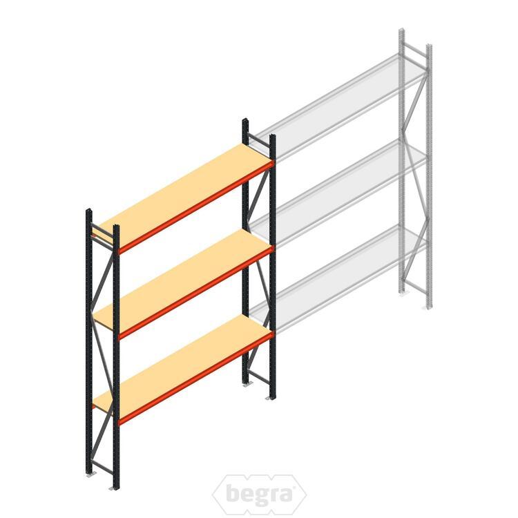 Anfangabschnitt AR Weitspannregal 3000x2250x400 - 3 Ebenen