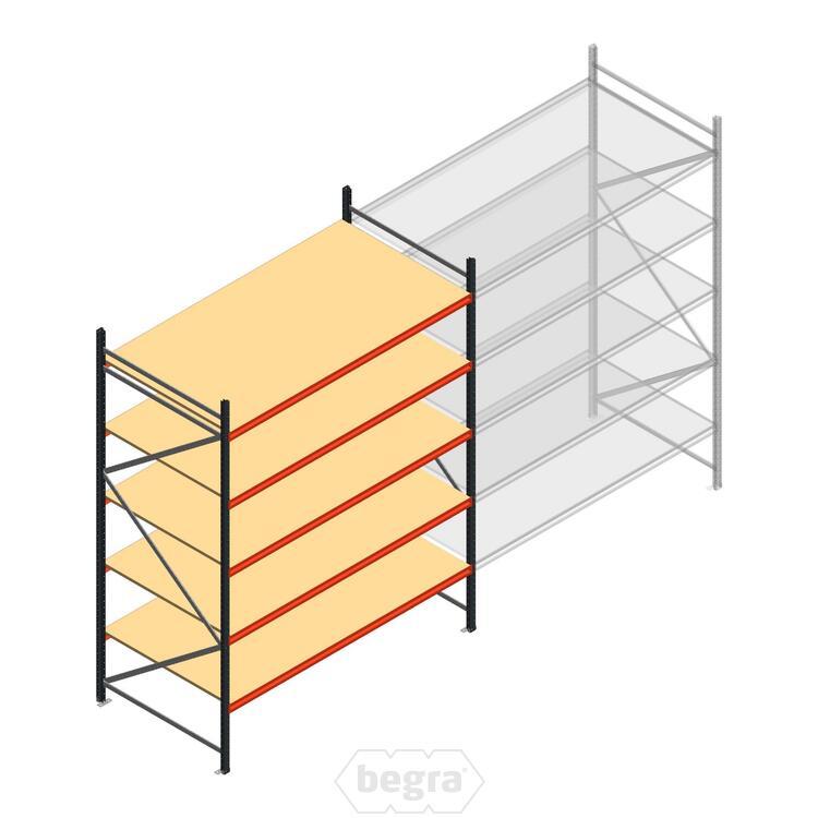 Anfangabschnitt AR Weitspannregal 3000x2700x1200 - 5 Ebenen