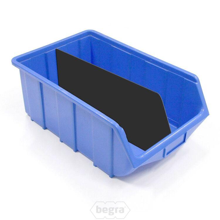 Trennwand für Sichtlagerkästen, Stapelboxen Kunststoff Typ-1