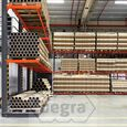 Schweres Kragarmregal einseitig 5000 x 1200 x 1200 Anbausektion