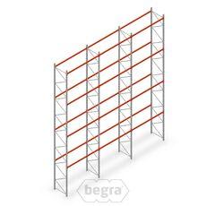 Angebotsreihe Palettenregal AR T2 7000x8420x1100 mm (hxbxd) T1451/2700 - 4 Ebenen